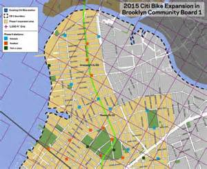 Citibank Locations Map Citi Bike Reveals New Station Locations In