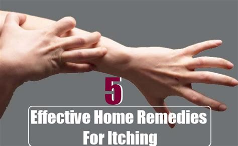5 effective home remedies for itching health care a to z