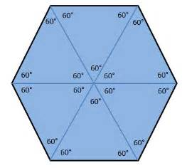 Interior Angle Of Hexagon Types Of Polygons Technical Graphics