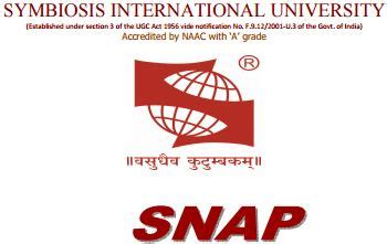 Symbiosis Entrance Test Sle Papers For Mba by Snap 2017 Snap Test 2017 Symbiosis National Aptitude