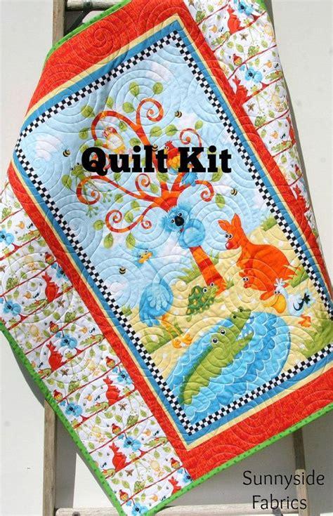 Quilt Panels Australia by Quilt Kit Aussie Mates Panel Gender Neutral Boy Or