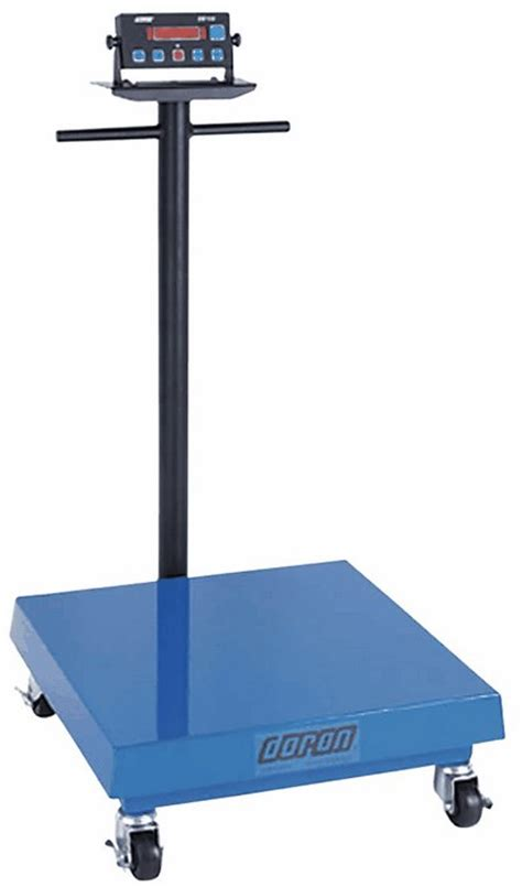 industrial bench scale mobility kit casters for doran industrial bench scales
