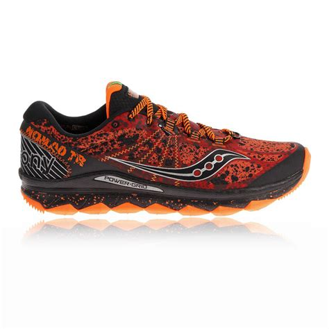 orange saucony running shoes new saucony nomad tr running shoes orange black on sale