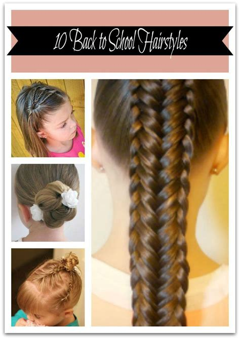Easy Hairstyles For To Learn by 133 Best Images About Back To School Hair On