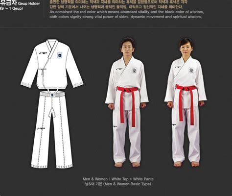 juche pattern meaning new uniforms will further promote taekwondo gyeonggibok