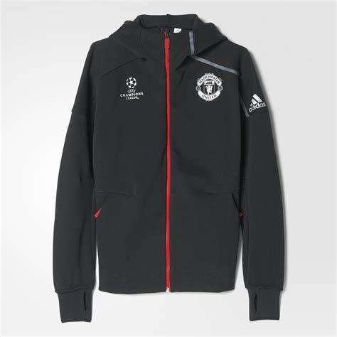 Vest Hoodie Manchester United Fc 3 adidas manchester united fc z n e jacket
