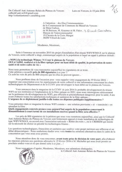 Modele De Lettre Petition