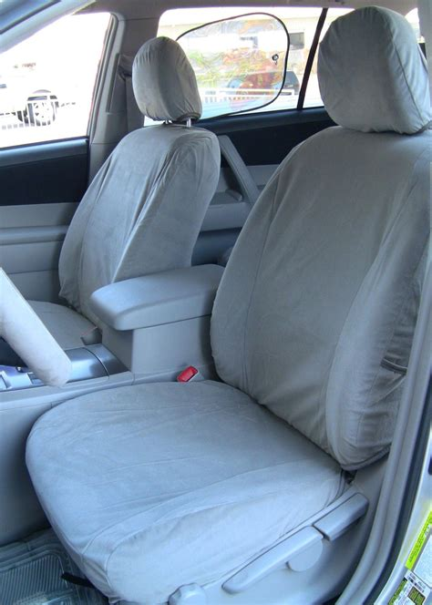 Toyota Highlander 2013 Seat Covers 2008 2013 Toyota Highlander Front Seats And Middle