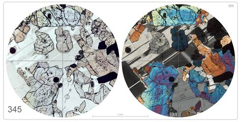 mineral identification thin section lpod february 28 2009