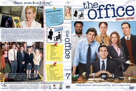 the office season 7 dvd cover labels 2010 r1 custom