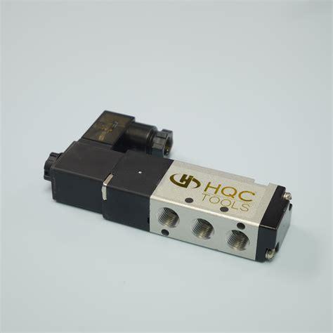 Solenoid Valve Pilot 5 2 Drat 1 8 Inch 5 2 way solenoid valve 1 8 quot npt ports 4v110 06 hqc tools pneumatic supplies pneumatic