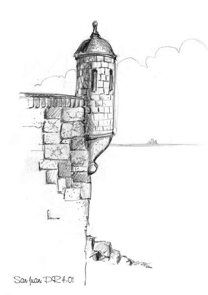 dibujo del morro el morro drawing puerto rico puerto rico pinterest