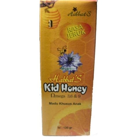 Sabun Temulawak Honey habbat s kid honey jeruk