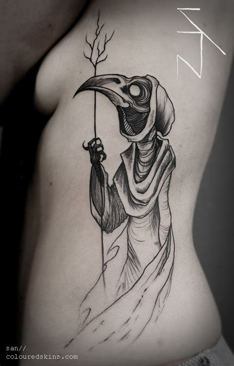 plague doctor san deuil