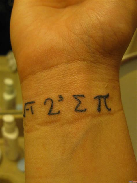good wrist tattoo ideas math images designs