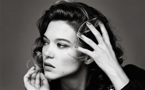 lea seydoux black and white 19 lea seydoux wallpapers high quality resolution download