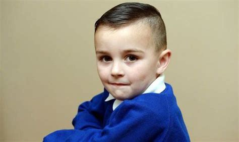 3 yr old boy haircuts three year old s short hair leads to school ban uk