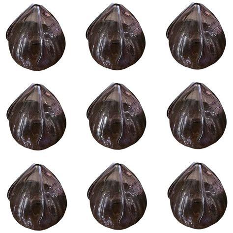 tulip shaped light shades extremely set of nine tulip shaped light shades for