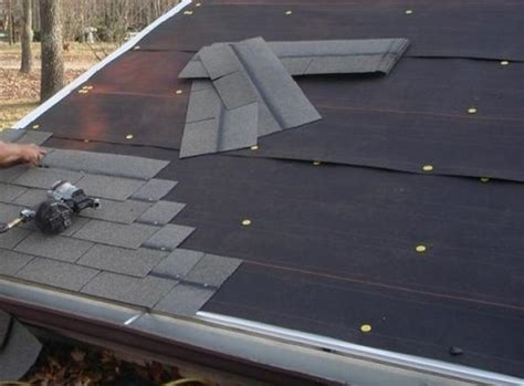How To Make A Paper Roof - how to tar paper your roof ecofriend