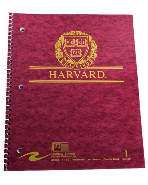 Harvard Mba Books by Harvard Notebook The Harvard Shop