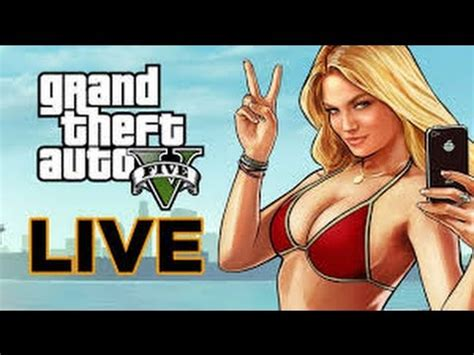 gta 5 online *new* live stream (gh??)(ps4) youtube