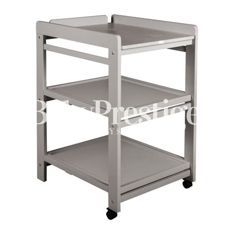Changing Table With Wheels Quax Changing Table Comfort On Wheels Griffin Gray For With Decorations 7 Tubmanugrr