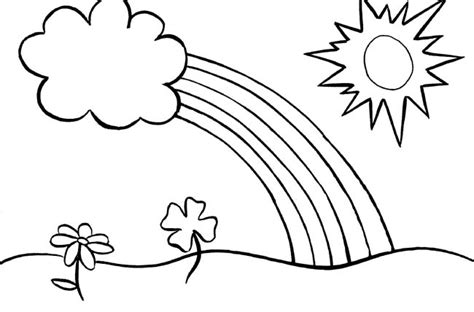 Coloring Pages For Kids Rainbow Coloring Pages Coloring Pages Of Rainbows 2