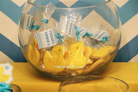 A Rubber Ducky Themed First Birthday   Time2Partay.com