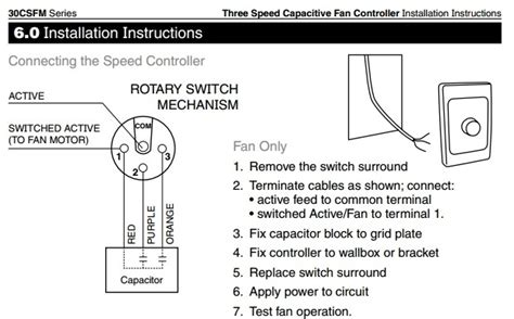 ceiling fan switch wiring diagram for fan ceiling