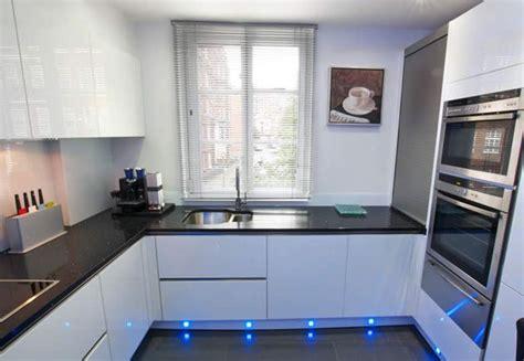u kitchen designs high gloss acrylic white u shaped kitchen in handleless