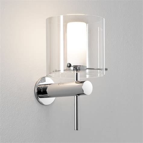 Astro Bathroom Lights Arezzo 0342 Polished Chrome Bathroom Lighting Wall Lights