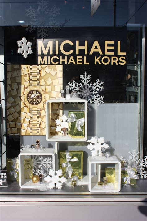 Michael Decoration Store by Michael Kors Window Display In Vancouver Bc By