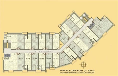 commercial complex floor plan overview gemstar commercial complex mumbai commercial