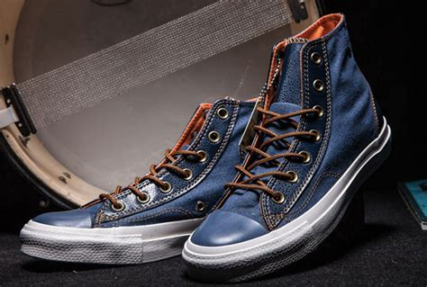 Converse Ct All Exo Denim Hi Top Black All Converse Blue Leather Www Imgkid The