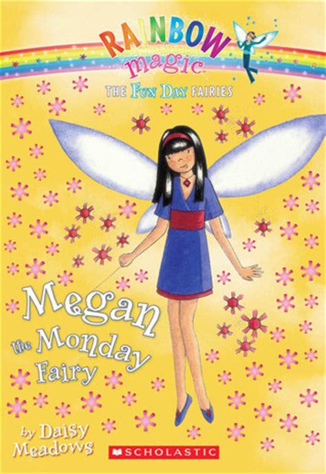 i fairyland book one books megan the monday rainbow magic day fairies 1