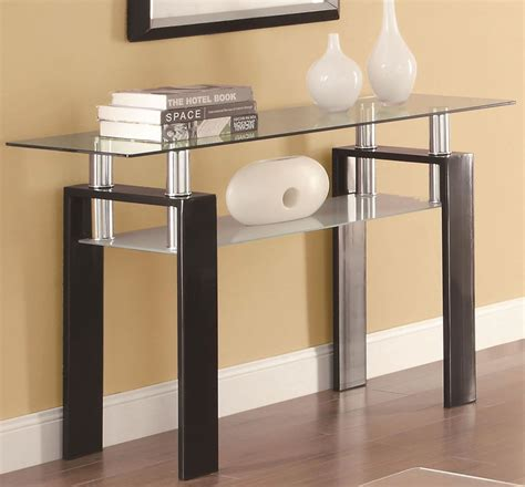 contemporary sofa table cheap modern glass sofa table in chicago