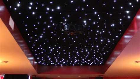 Light That Projects On Ceiling by Installing A Fiber Optic Starfield Ceiling Make