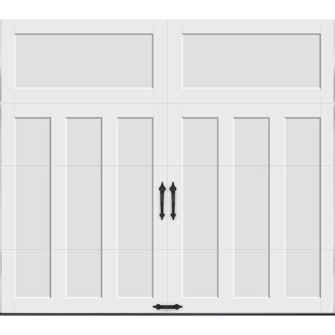 Clopay Coachman Collection 8 Ft X 7 Ft 18 4 R Value 7 Ft Garage Door