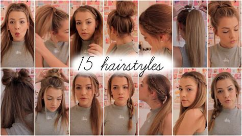 Pictures Of Different Hairstyles by 15 Heatless Hairstyles Lilyellaburt