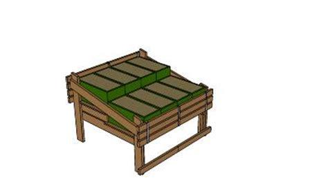 inside green sub irrigated planter box table plans