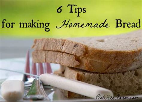Simple Tip Refreshing Day Bread by Bread Tips For Bread Pint Size Farm