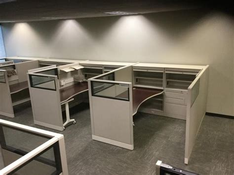 Mikro Office Cube Pops Out Of A Single Sheet Of Stainless Steel by 31 Best Images About Used Office Cubicles Used Cubicles