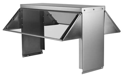 buffet stainless lexan sneeze guard for 5 bay electric or