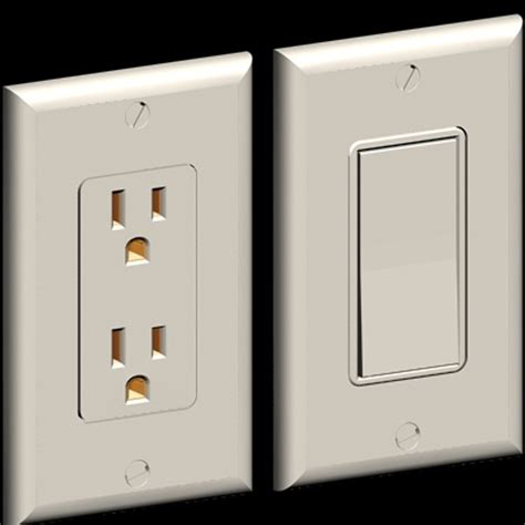 Modern Electrical Outlets by Planning For Switches And Outlets In Your Kitchen Design
