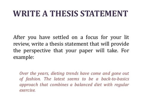 theme thesis exles literature review