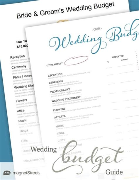 Wedding Budget Guide Pdf wedding budget guide free pdf guide to organize your budget