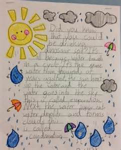 Water Cycle Essay by Simply Second Grade The Water Cycle Clouds