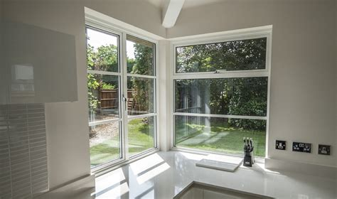 corner bay window white pvc u square bay window with dummy sashes featuring