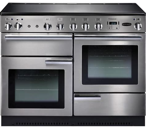 electric induction range cookers buy rangemaster professional 110 electric induction range cooker stainless steel chrome