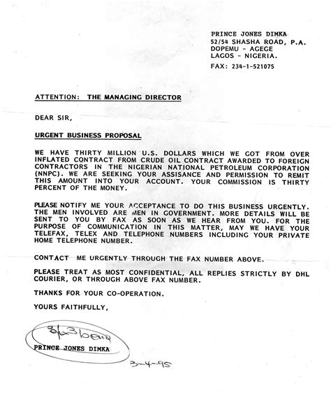 Contract Prolongation Letter File Nigerianscam Jpg Wikimedia Commons
